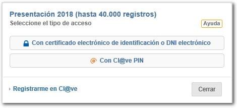 Certificado electrónico para acceder al Modelo 347