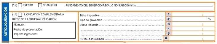 Cálculo del impuesto en el Modelo 620
