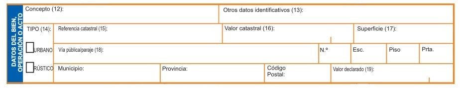 declarar las operaciones o bienes en el Modelo 600